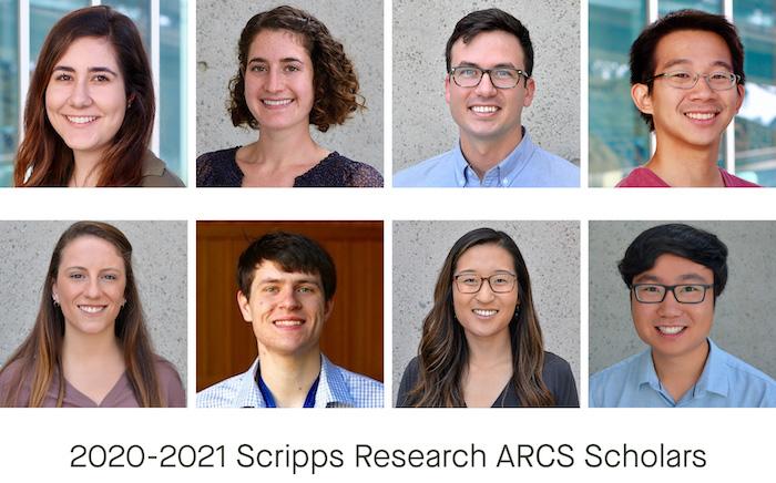 2020-2021 ARCS Scholars